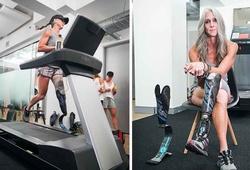 Bà mẹ U50 cụt chân, 25 lần phẫu thuật lập kỷ lục thế giới chạy 160km trên máy