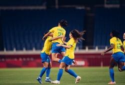 Chiêm ngưỡng Alves của nữ Brazil đá phạt tuyệt đẹp tại Olympic