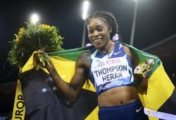 Kỷ lục chạy 100m 37 năm bị xô đổ tại giải điền kinh Kim cương