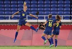Nữ Thụy Điển lần thứ hai liên tiếp lọt vào chung kết Olympic
