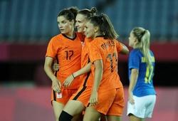 Nữ Hà Lan ghi nhiều bàn chưa từng thấy ở vòng bảng Olympic