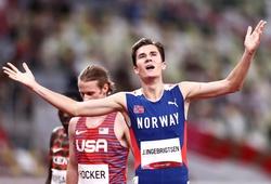 Chàng trai Na Uy phá sâu kỷ lục Olympic 1500m nam tồn tại… 2 ngày