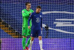 Xem Jorginho của Chelsea mắc lỗi dẫn đến bàn thua trước Arsenal