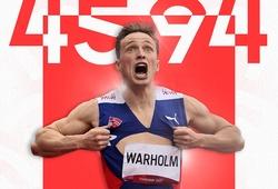 Ngày vàng điền kinh Olympic với siêu phẩm kỷ lục thế giới
