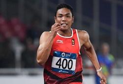 """Tài năng chạy tốc độ """"hiếm - khó"""" Đông Nam Á xuất trận trước Olympic và SEA Games 31"""