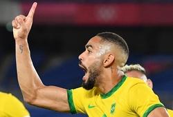 """Cunha lại đóng vai """"mở khóa"""" giúp U23 Brazil giành HCV Olympic"""