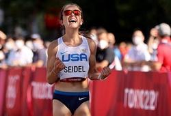 Cô gái rạn xương vai vì vấp chó khi tập chạy, giành HCĐ marathon nữ Olympic Tokyo
