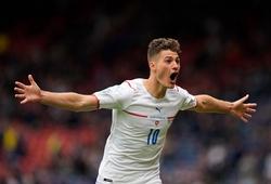 Patrik Schick ghi bàn thắng cho CH Séc từ khoảng cách xa nhất lịch sử EURO