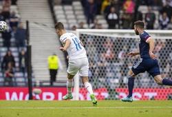 Cận cảnh Schick lập siêu phẩm bàn thắng từ giữa sân cho Séc