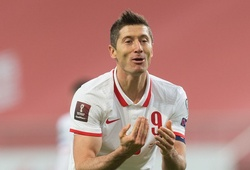 Lewandowski lỡ đại chiến với Anh ở vòng loại World Cup 2022