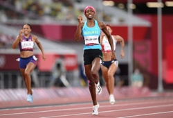 """Cô gái Bahamas """"giữ vàng"""" 400m Olympic, Allyson Felix đi vào lịch sử điền kinh"""