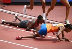 Bứt tốc thần kỳ 300m cuối, cô gái Hà Lan về nhất đường chạy 1500m dù ngã đau
