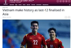 FIFA ấn tượng với khoảnh khắc lịch sử của tuyển Việt Nam ở VL World Cup 2022