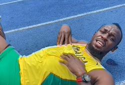 """""""Vua tốc độ"""" Usain Bolt thua trên đường chạy 800m sau 4 năm giải nghệ"""