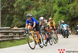 Ấn tượng khảnh khắc chặng 3 vượt đèo Bảo Lộc 9,5 km giải xe đạp Biwase 2021