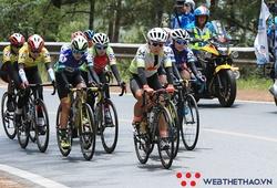 Chặng 4 giải đua xe đạp nữ Biwase 2021: Nguyễn Thị Thu Mai ẵm cú đúp giải thưởng