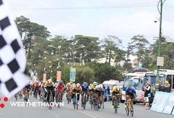 Chặng 5 giải xe đạp nữ Biwase 2021: Nguyễn Thị Thật giành lại áo xanh