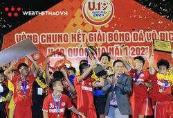 Đánh bại U19 Nutifood, U19 PVF bảo vệ thành công ngôi vô địch