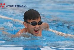 Nụ cười trẻ tự kỷ tại Trung tâm thể thao dưới nước Yết Kiêu