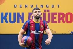 Barca chưa hết buồn về Messi lại nhận thêm cú sốc từ Aguero