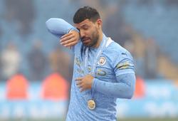 Guardiola rơi nước mắt khi nói về Aguero với Man City