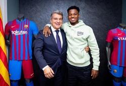 Barca lại ràng buộc sao trẻ Ansu Fati bằng 1 tỷ euro