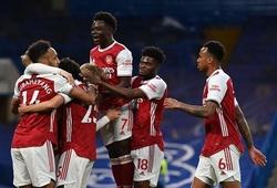 Arsenal xếp trên MU ở lượt về Ngoại hạng Anh