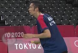 Kết quả cầu lông Olympic mới nhất: Tiến Minh đã chiến đấu đến tận cùng