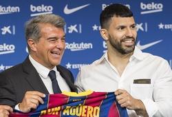 Aguero nói gì về Messi sau khi gia nhập Barca?