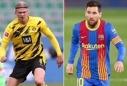 Barca sẽ chuyển ưu tiên từ Messi sang Haaland?