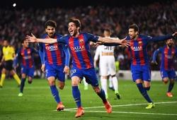Barca liên quan 3 trong 4 cú ngược dòng vĩ đại nhất Champions League