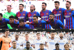 Giá trị thị trường của Barca và Real Madrid ở trận Siêu kinh điển
