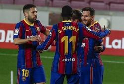 Messi giúp Barca rút ngắn khoảng cách khó tin với Atletico