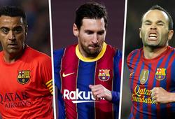 Barca vượt Real Madrid trở thành CLB xuất sắc nhất thập kỷ