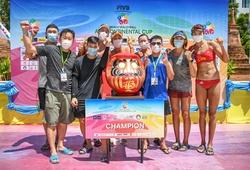 Bóng chuyền bãi biển Trung Quốc lên ngôi hậu, giành vé Olympic Tokyo 2020