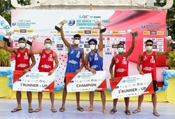 Bóng chuyền bãi biển nam Iran thống trị các giải trẻ Châu Á
