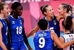 Ứng viên HCV bóng chuyền nữ Olympic có chiến thắng nhẹ nhàng ngày ra quân