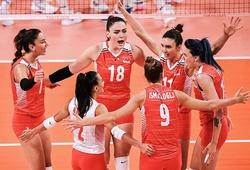 Bóng chuyền nữ Thổ Nhĩ Kỳ trở lại mặt đất sau loạt trận thứ 2 tại Olympic