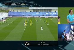 Vì sao bàn thắng của Benzema cho Real bị VAR từ chối?
