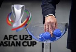 Trực tiếp bốc thăm vòng loại U23 châu Á 2022