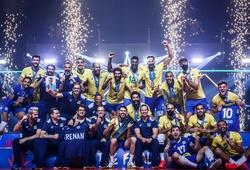 Bóng chuyền nam Brazil xưng vương tại VNL 2021
