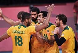"""Bóng chuyền nam Brazil chỉ nhất bảng """"chưa đầy 2 tiếng"""" tại Olympic"""