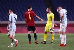 Các cầu thủ Brazil chế nhạo Argentina sau khi bị loại khỏi Olympic