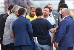 Phản ứng của Messi sau khi trận Brazil - Argentina bị đình chỉ