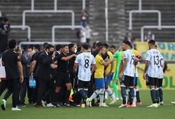 Trận Brazil vs Argentina bị đình chỉ khi 4 cầu thủ bị tố nói dối