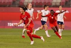 Nữ Canada khiến Mỹ ôm hận để vào chung kết Olympic 2021