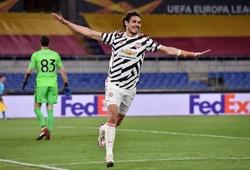 Cavani và De Gea được chấm điểm cao nhất của MU trước Roma