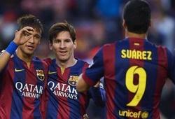 MSN của Barca trở thành cây đinh ba xuất sắc nhất thế kỷ