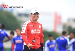 Xin nghỉ không lâu, HLV Chung Hae Seong trở lại dẫn dắt CLB TP.HCM