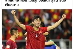 Truyền thông Thái Lan quan tâm đặc biệt đến Đoàn Văn Hậu